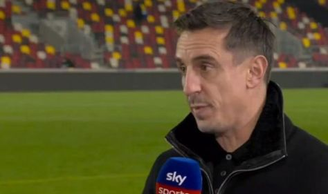 Cristiano Ronaldo among five Man Utd stars called out by Gary Neville in Leicester rant