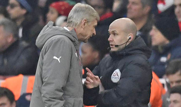 Arsene Wenger fourth official
