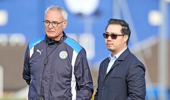Aiyawatt Srivaddhanaprabha and Claudio Ranieri