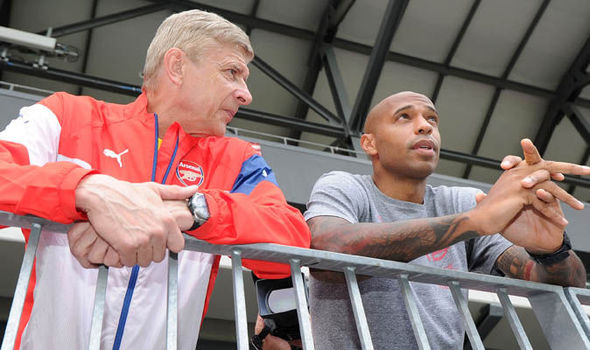 Arsenal News Arsene Wenger Thierry Henry