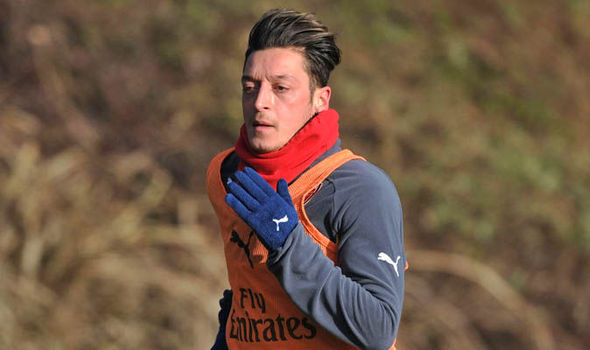 Mesut Ozil at Arsenal