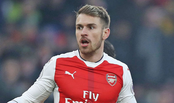 Arsenal star Aaron Ramsey