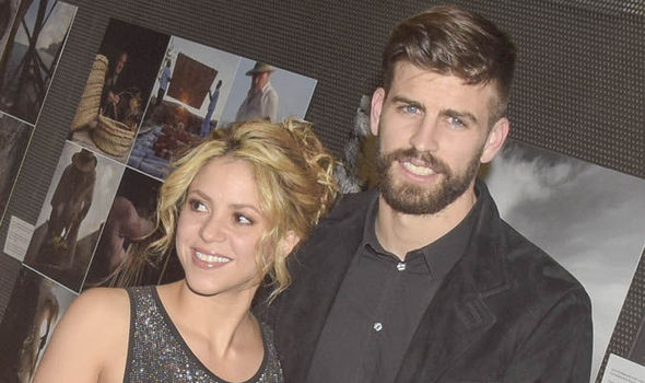 Gerard Pique Shakira Barcelona