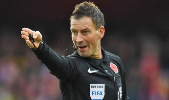 Mark Clattenburg at Chelsea