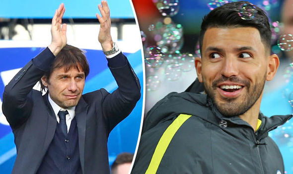 Chelsea news on Conte and Aguero