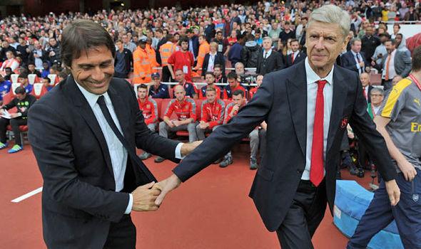 Arsenal Chelsea Antonio Conte Arsene Wenger
