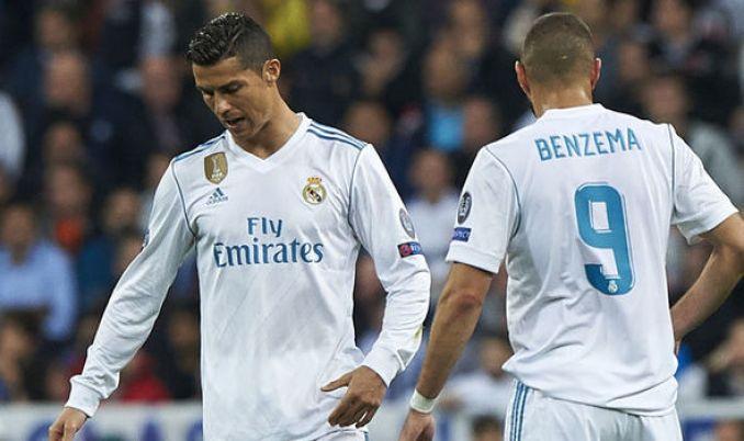 Kết quả hình ảnh cho karim benzema Ronaldo