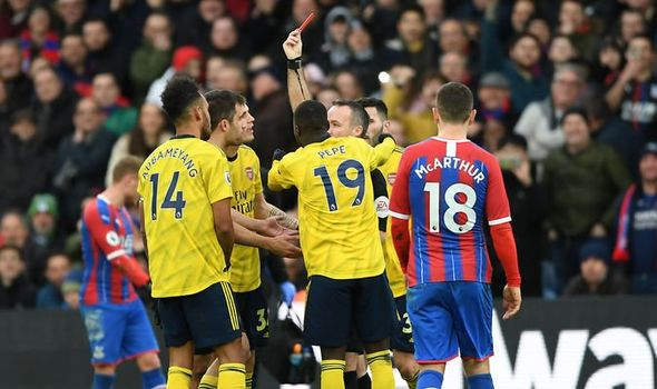 Crystal Palace vs Arsenal LIVE: Premier League score, team news and latest updates