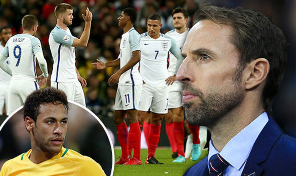 England boss Gareth Southgate praised his young side
