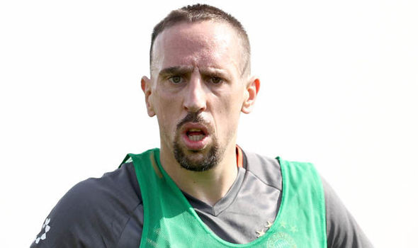 Franck Ribery Manchester United Chelsea