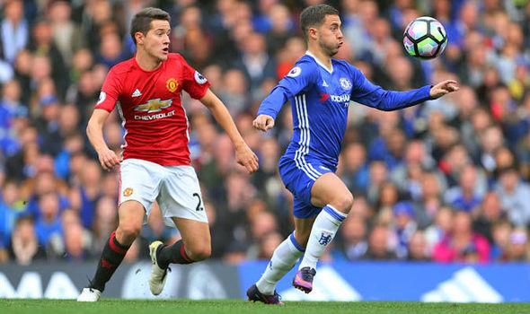 Ander Herrera Manchester United Chelsea