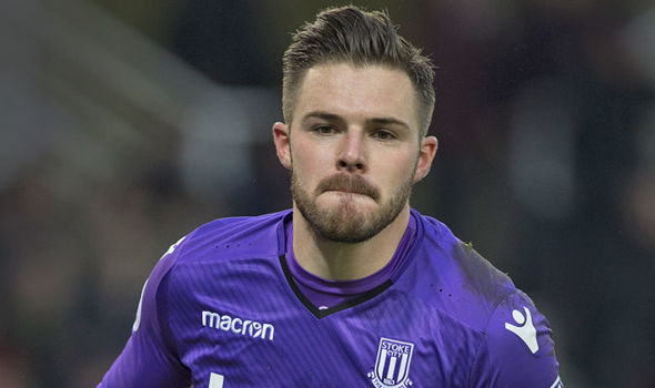 Jack Butland insists he has not told Stoke he wants to leave
