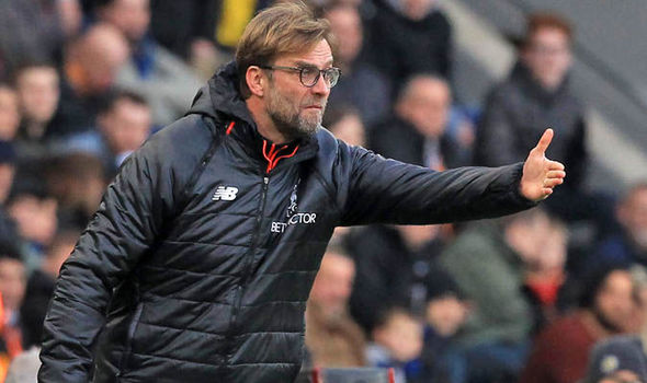 Liverpool manager Jurgen Klopp under pressure
