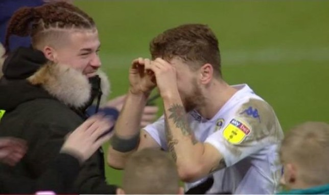 Leeds fans will absolutely love what Mateusz Klich was caught doing after Derby win