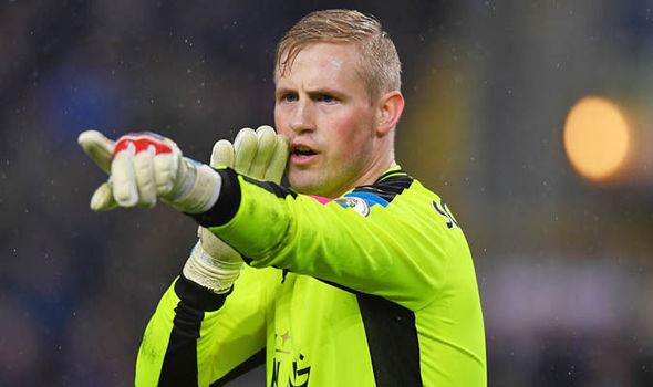 Kasper Schmeichel at Leicester