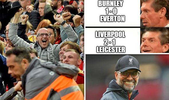 Liverpool Fan Creates Hilarious Meme As Reds Win Then Everton Man