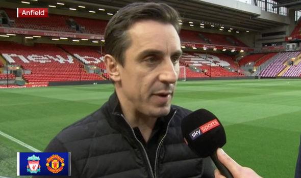 Liverpool Man Utd Gary Neville