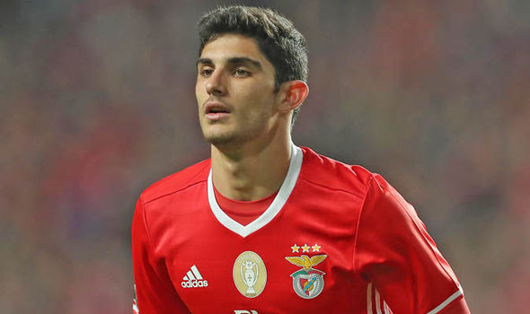 Goncalo Guedes Manchester United Benfica