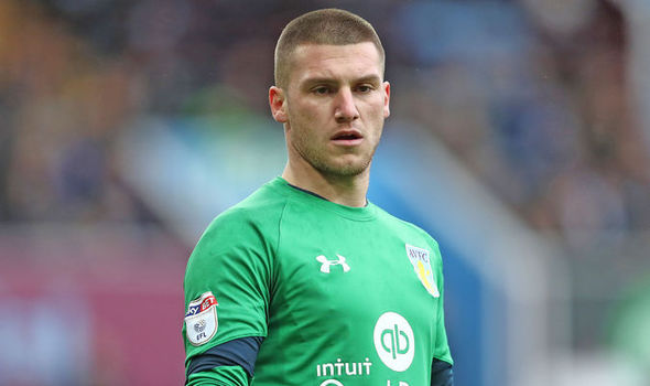 Manchester United goalkeeper Sam Johnstone