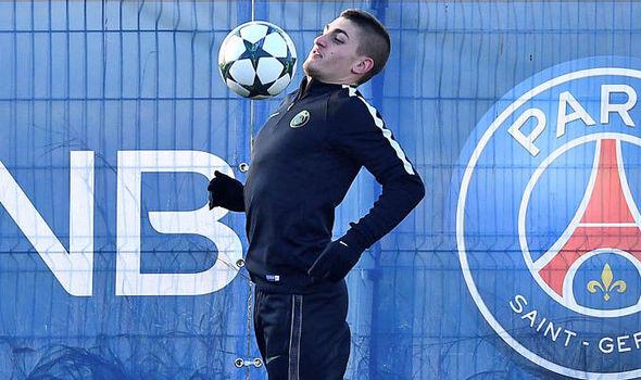 Manchester United transfer target Marco Verratti