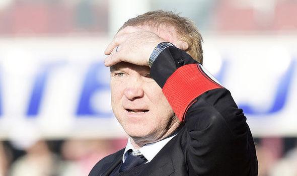 Former Rangers boss Alex McLeish