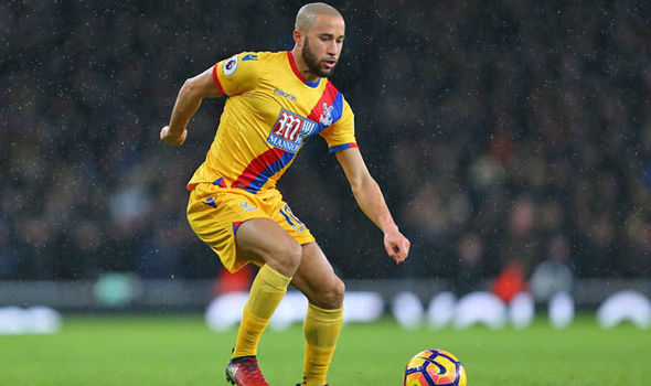 Andros Townsend at Crystal Palace