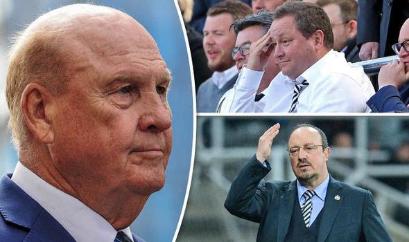 Newcastle news on Rafa Benitez