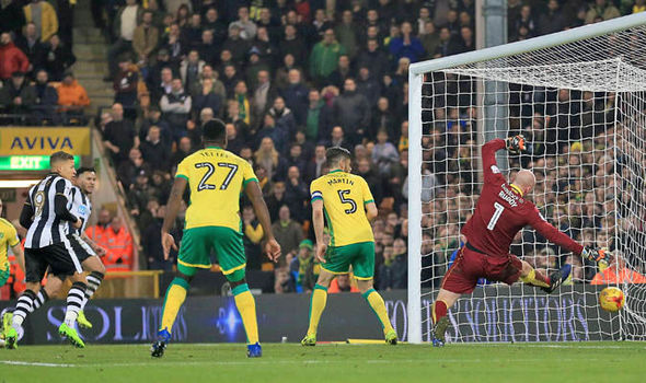 Norwich v Newcastle match report