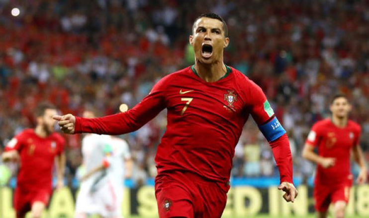 Image result for ronaldo spain
