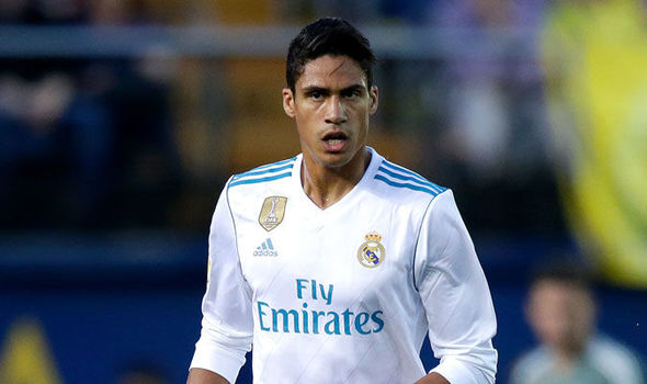 Jose Mourinho is desperate to bring Real Madrid star Raphael Varane to Manchester United