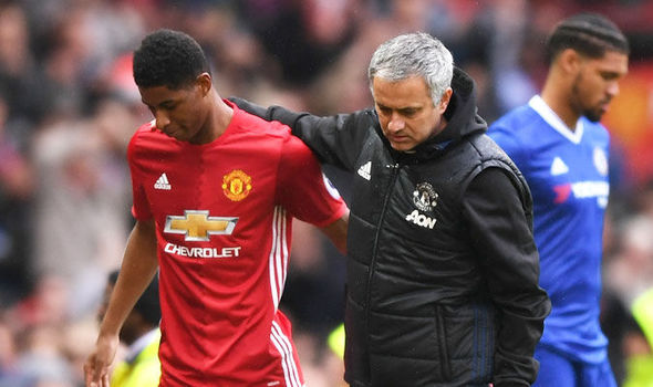 Marcus Rashford making way for Zlatan Ibrahimovic