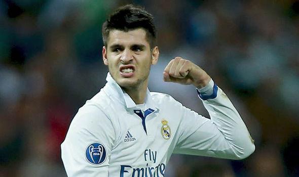 Real Madrid Manchester United Transfer News Alvaro Morata