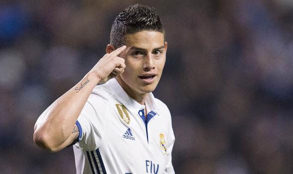 Real Madrid News Barcelona James Rodriguez Liverpool