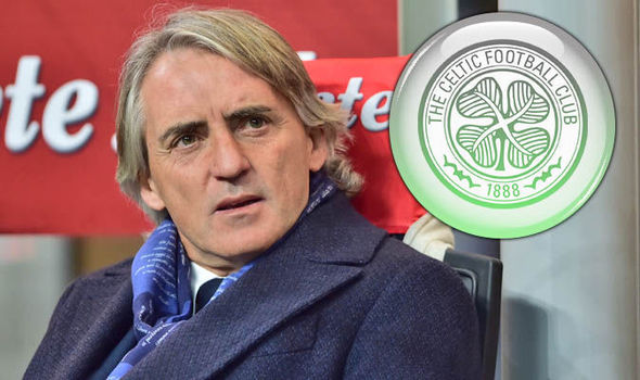 Roberto Mancini discusses Celtic manager job