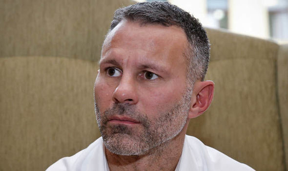Ryan Giggs at Champions League event
