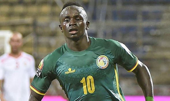 Sadio Mane has scored two goals for Senegal in the Africa Cup of Nations