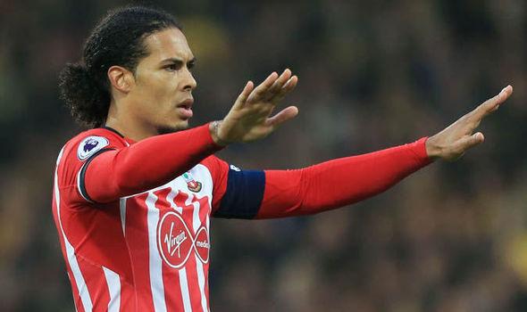 Southampton Transfer News Virgil van Dijk Liverpool