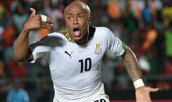 Image result for andre ayew ghana