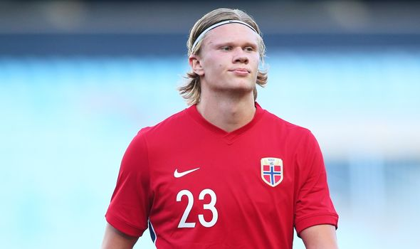 Erling Haaland: Norway missed out on Euro 2020