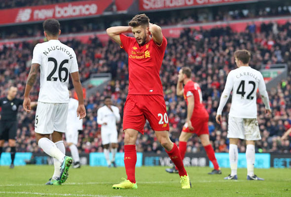 Adam Lallana at Liverpool