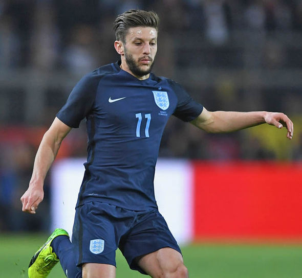 Adam Lallana came closest for England after hitting the post in the first-half