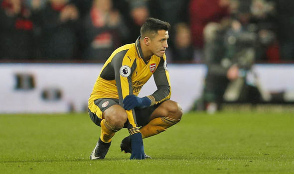 Image result for alexis sanchez angry
