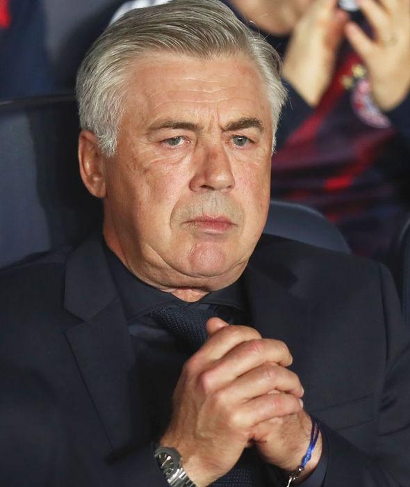 Former Bayern Munich boss Carlo Ancelotti