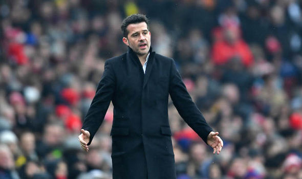 Marco Silva at Arsenal
