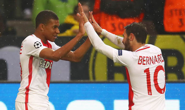Arsenal Monaco Kylian Mbappe Man Utd Real Madrid