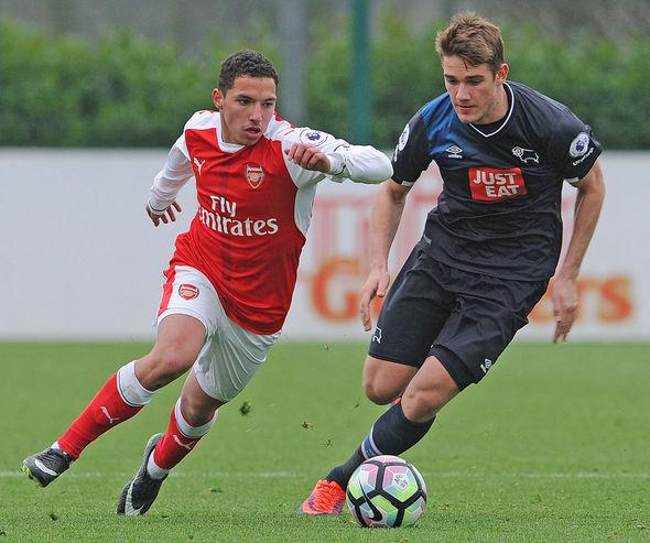 Arsenal midfielder Ismael Bennacer