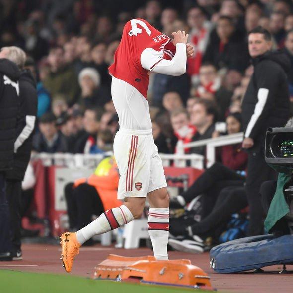Arsenal news Granit Xhaka statement Crystal Palace