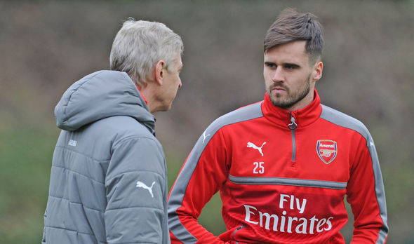 Arsenal star Carl Jenkinson