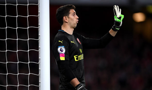 Emiliano Martinez at Arsenal