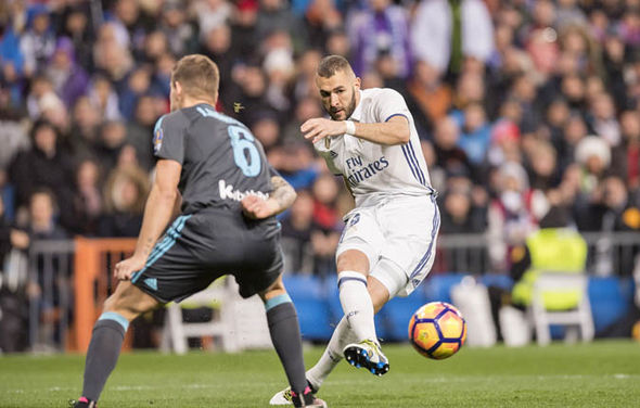 Benzema scores for Real Madrid